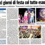 corriere adriatico 30 luglio 2014