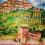 locandina carnevale montecosaro 2017