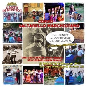 locandina corso saltarello 2017-2018